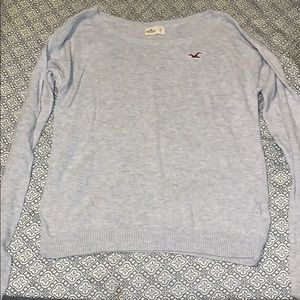 long sleeve hollister sweater